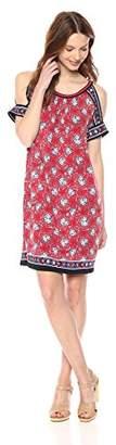 Max Studio Women's Cold Shoulder Jersey Dress
