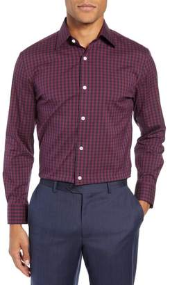 Bonobos Timber Slim Fit Check Dress Shirt