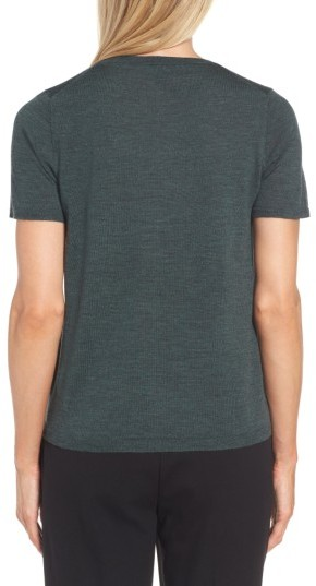 Women's Eileen Fisher Merino Wool Tee 3