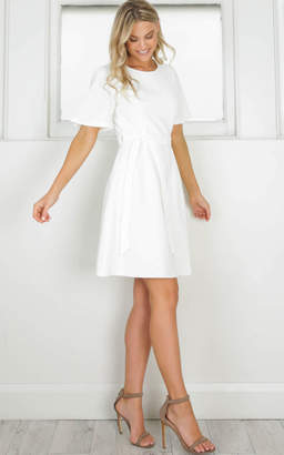 Showpo You Give Me Something Dress in white