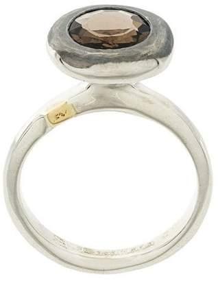 Rosa Maria embellished pendant ring