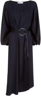 Amanda Wakeley Belted Balloon Sleeve Dress
