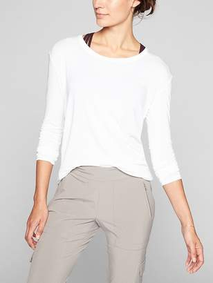 Athleta Threadlight Relaxed Long Sleeve
