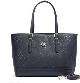 Tommy Hilfiger Perforated Tote
