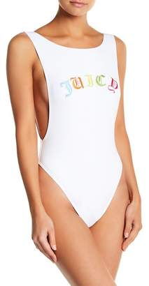 Monroe Marilyn Swim Embroidered Juicy One-Piece Swimsuit