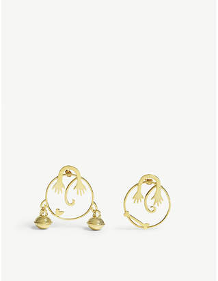 BECCA JEWELLERY Mr & Mrs Bell mismatched earrings