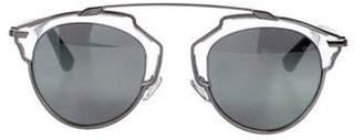Christian Dior So Real Mirrored Sunglasses