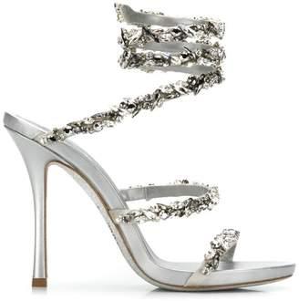 Rene Caovilla Cleo sandals maxi-strass 105