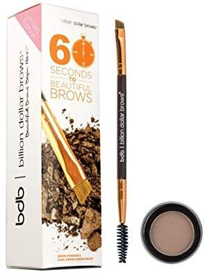 Billion Dollar Brows 2-Piece 60 Seconds To Beautiful Brows Kit - Taupe