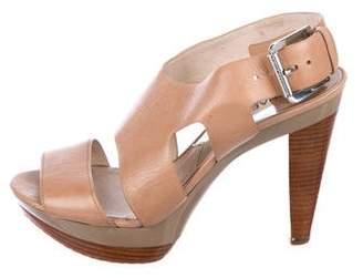 MICHAEL Michael Kors Leather Platform Sandals