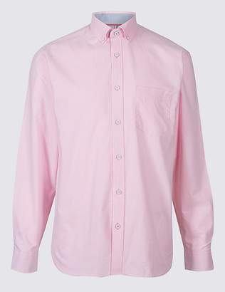 Marks and Spencer Pure Cotton Shirt with Pocket