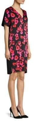 Escada Sport Dafleur Floral Tunic Dress