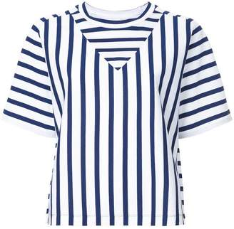 CK Calvin Klein basque stripe T-shirt