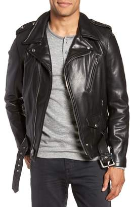Schott NYC '50s Perfecto Oil Tanned Cowhide Leather Moto Jacket