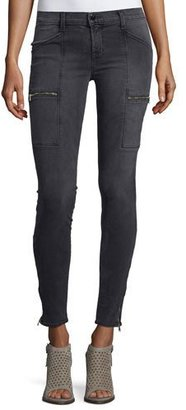 J Brand Kassidy Skinny Ankle Jeans, Gray $249 thestylecure.com
