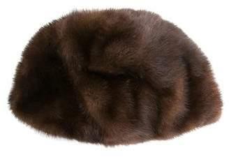 Saks Fifth Avenue Mink Fur Hat