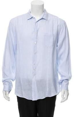 John Varvatos Casual Linen Shirt