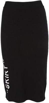 Off-White Printed Skirt