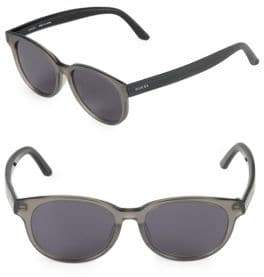 Gucci 52MM Oval Sunglasses