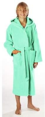 Pool' Egeria Maurice bathrobe with hood for girls and boys, Cotton, White, 116 (EU)