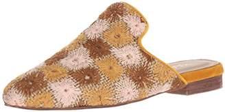 Kaanas Women's Salento Embroidered Flat Slide Shoe Mule