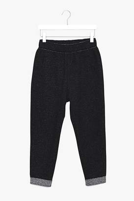 Genuine People Cropped Wool Cotton Blend Pants