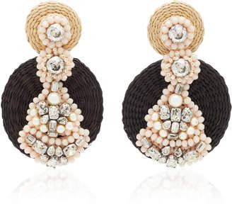 Johanna Ortiz M'O Exclusive Mali Empire Woven Earrings
