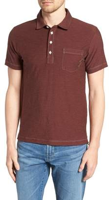 Billy Reid Pensacola Cotton Blend Polo Shirt
