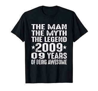 The Man Myth 9 Years 2009 9th Birthday Shirt Decorations
