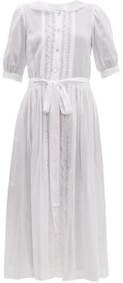 Loup Charmant The Belmont Cotton Dress - Womens - White