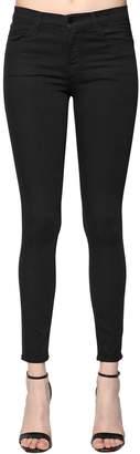 J Brand Super Skinny Mid Rise Denim Jeans