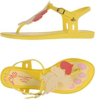 Vivienne Westwood + MELISSA Toe strap sandals