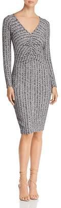 Three Dots Ribbed Sweater Dress