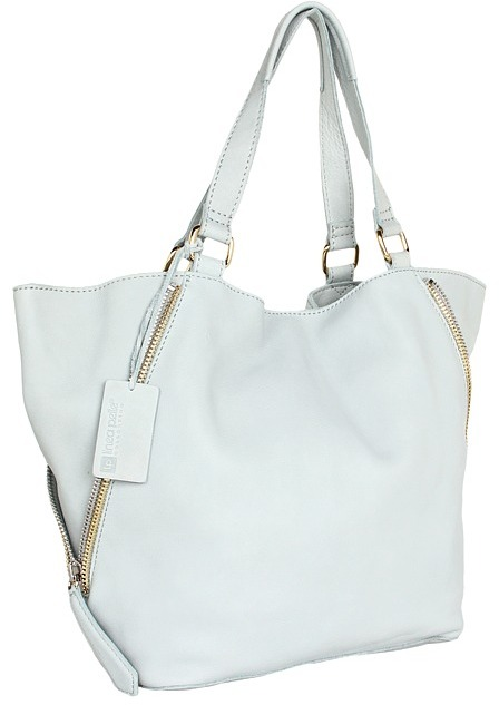 Linea Pelle Alex Zip Tote (Wave) - Bags and Luggage