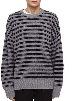 AllSaints Bretley Striped Crewneck Sweater