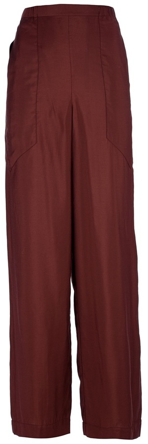 Christophe Lemaire relaxed wide leg trouser