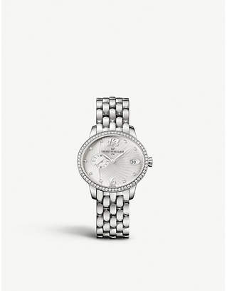 Girard Perregaux Girard-Perregaux Cat's eye stainless steel bracelet watch