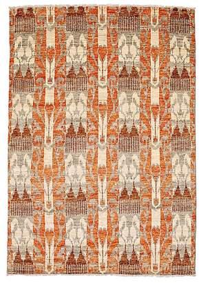 Solo Rugs Ikat Wool Oriental Rug