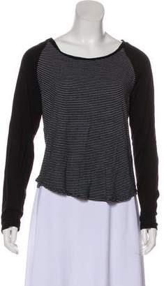 Adrienne Vittadini Striped Knit Top