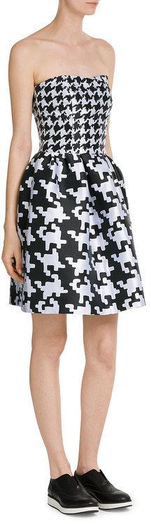 MoschinoBoutique Moschino Dogstooth Dress