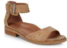 Gentle Souls Gracey Natural Leather Ankle-Strap Sandals