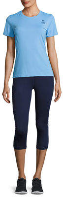 Psycho Bunny Paneled Performance Capri Leggings