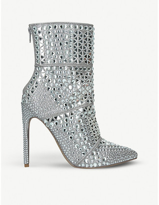 Steve Madden Whole rhinestone-embellished ankle boots