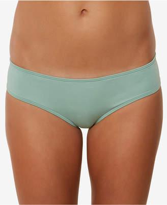 O'Neill Juniors' Salt Water Solids Hipster Bikini Bottoms Women's Swimsuit
