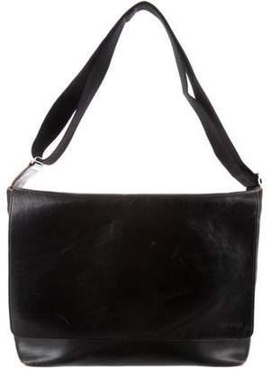 Jack Spade Leather Messenger Bag