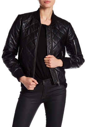 7 For All Mankind Quilted Leather Jacket $745 thestylecure.com