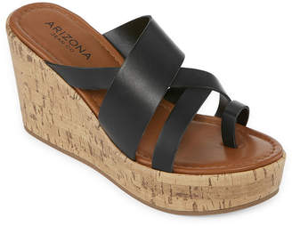 Arizona Womens Bellmont Wedge Sandals