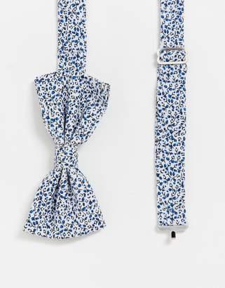 Original Penguin ditsy floral bow tie