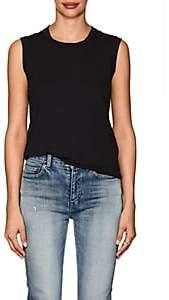 Nili Lotan Women's Cotton Jersey Muscle T-Shirt - Black