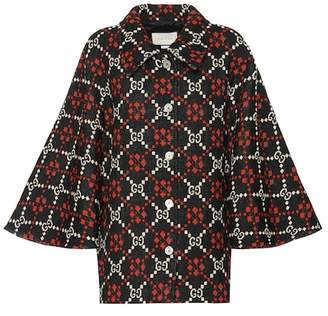 Gucci GG wool jacquard jacket